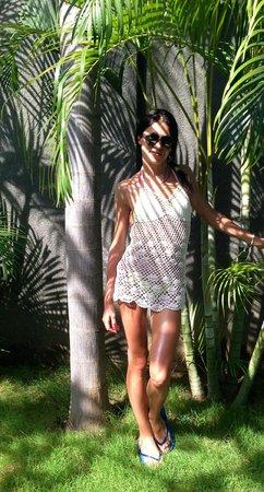 The Wolas Villas & Spa:                   Пальмы около виллы