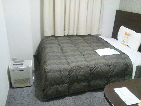 Comfort Hotel Tokyo Kiyosumi Shirakawa:                   シングルルーム。加湿器もあります