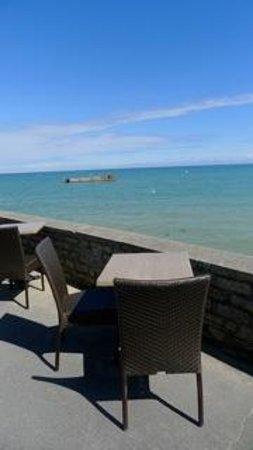 Hotel de la Marine: Notre terrasse extérieure...