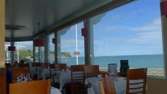 Hotel de la Marine: La mer à perte de vue...