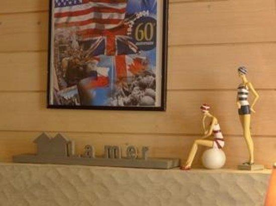 Hotel de la Marine: Les baigneuses de la Réception
