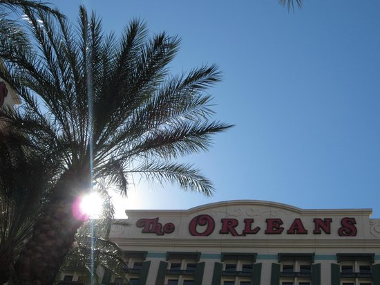 The Orleans Hotel & Casino:                   Taken from the pool area