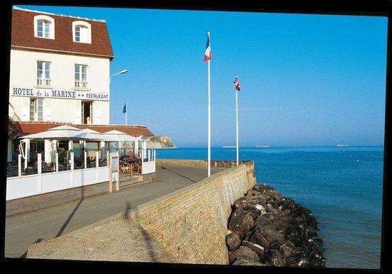 Hotel de la Marine: La Marine Arromanches...