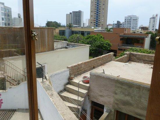 MSA Lima Design Hotel:                   Vista de la habitación de fundos