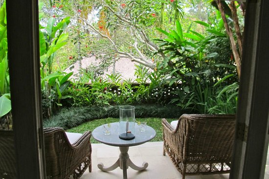 Uma by COMO, Ubud:                   Patio view