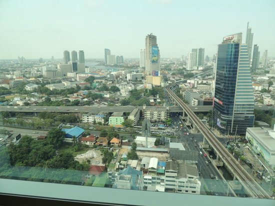 Eastin Grand Hotel Sathorn:                   vista dalla camera superior