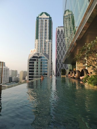 Eastin Grand Hotel Sathorn:                   piscina panoramica meravigliosa