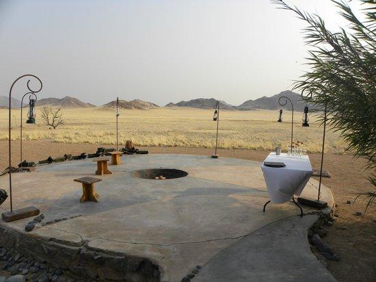Le Mirage Resort & Spa: Terrasse du Lodge