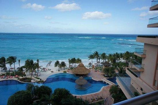 Grand Fiesta Americana Coral Beach Cancun:                   Vista do Quarto