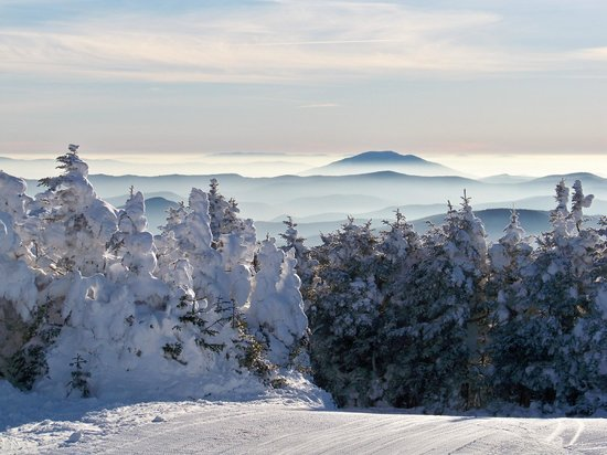 Pico Mountain : early morning Pico