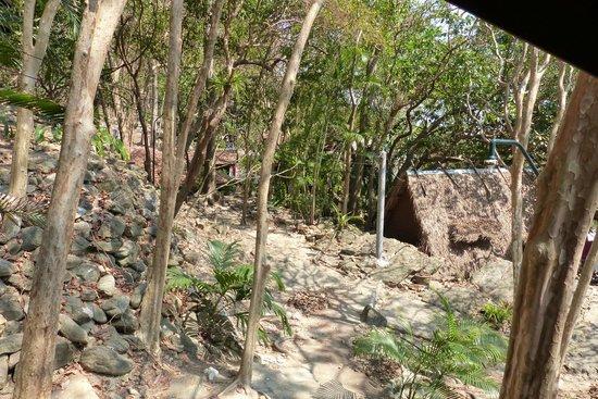 Ao Nuan Bungalows:                   Aussicht vom Zimmer