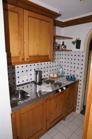 Berghotel Schlossanger Alp: Kitchenette