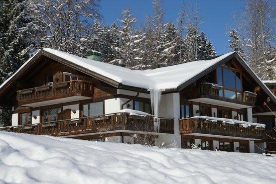 Berghotel Schlossanger Alp: Snow