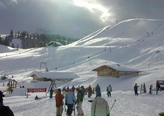 Lofer, Austria:                   Skigebiet