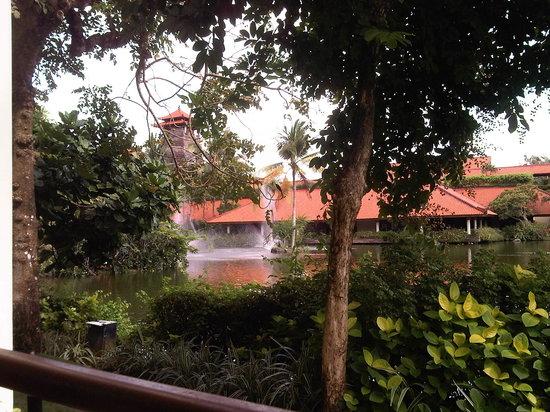 Ayodya Resort Bali:                   the garden