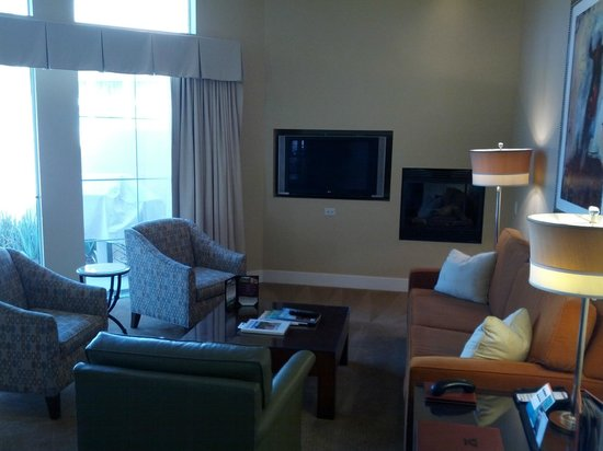 Hyatt Regency Indian Wells Resort & Spa: Living room