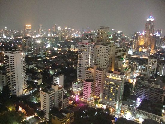 Sofitel Bangkok Sukhumvit:                   View towards Lumpini Park