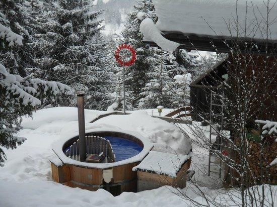 Berggasthaus Marmorbruch :                   Hotpot