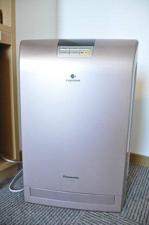 Hotel Nagata: 加湿機能付き空気清浄機