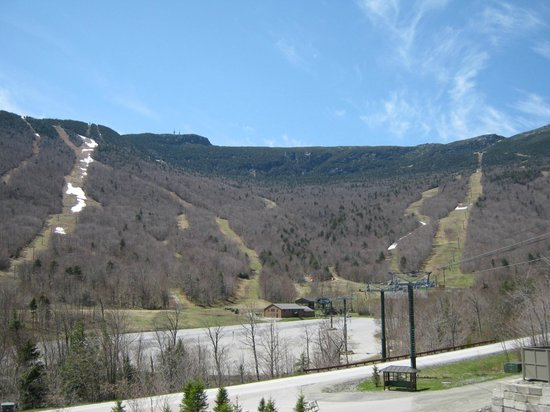 Stowe Mountain Lodge:                   View from Two-Bedroom Alpine Suite