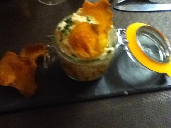 Le Michet :                   Sweet potato crumble starter
