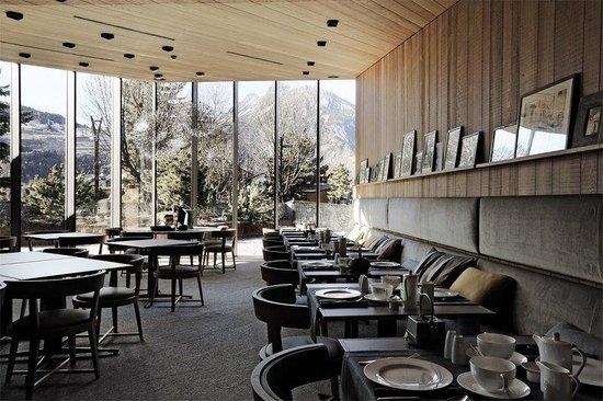Eden Hotel Bormio: Restaurant