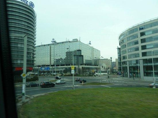 Hilton Prague:                   Вид на отель