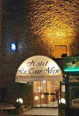 Hotel de la Tour Maje : Entrance
