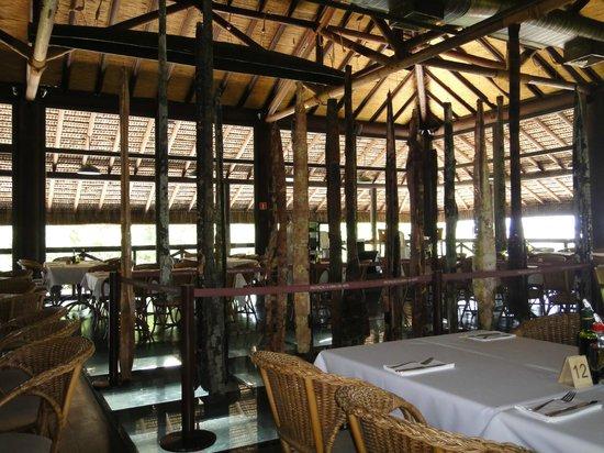 Manjar das Garças:                   interior do restaurante