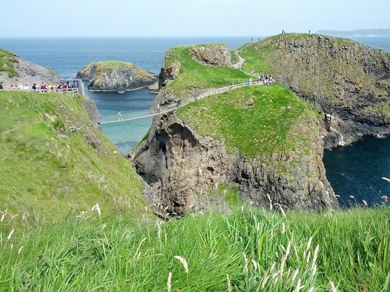 Carrick-A-Rede Rope Bridge: Il ponte sospeso