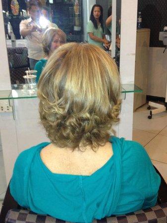 Circa 51:                   My hair!