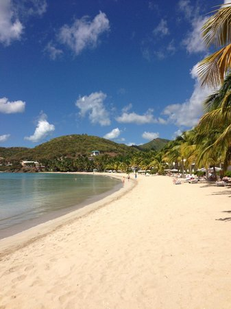 Carlisle Bay Antigua: Beach front