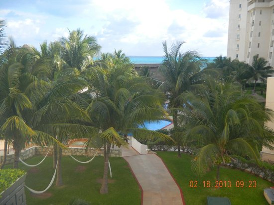 Casa Maya Cancun:                                     balcony view