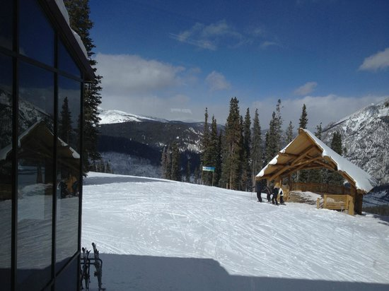 Copper Mountain:                   Up on the mountain