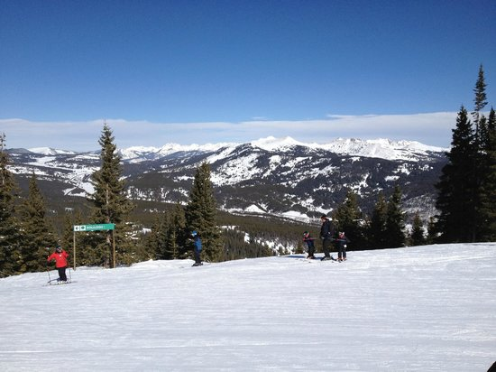 Copper Mountain Ski Area:                   On the slopes