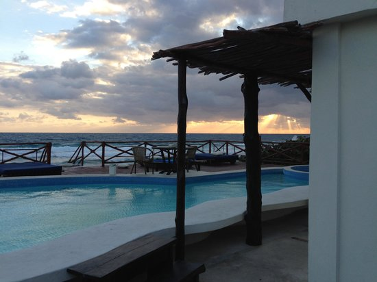 Casa Ixchel:                   The view from abundance