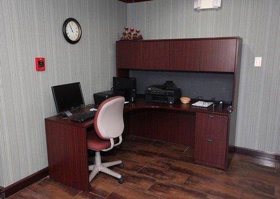 Quality Inn & Suites: business center