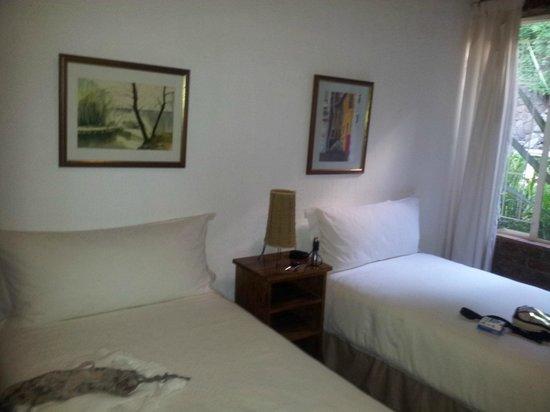 Valley View Lodge:                   Betten im 2. Raum