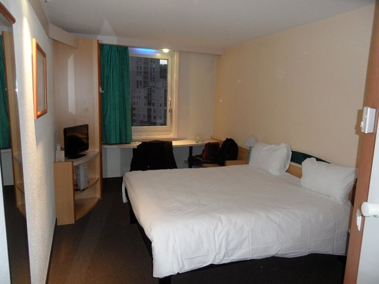 Ibis Lyon Caluire Cite Internationale: chambre