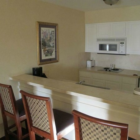 The Cook Hotel and Conference Center at LSU : Kitchenette, suite