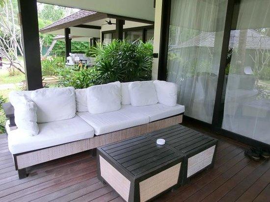 Nikki Beach Resort Koh Samui: Terrasse