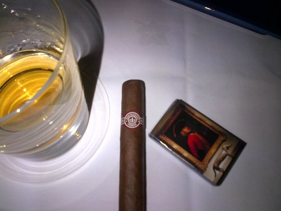 Dukes Bar:                   Duke's cigar smoking atrium, with Cubans and scotch, a great way to spend 2 ho