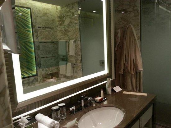 Außergewöhnlich Waldorf Astoria Berlin: Badezimmerspiegel Mit Integriertem Bildschirm