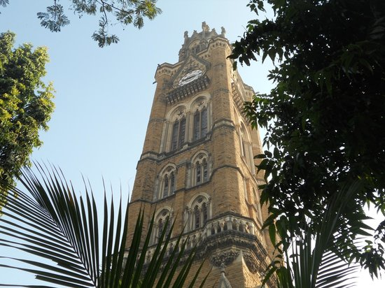 Rajabai clock tower: close view