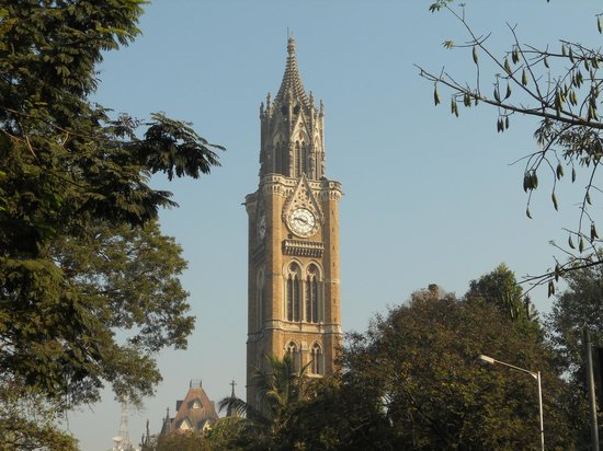 Rajabai clock tower: distant view