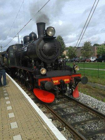 ZLSM Steamtrain at Valkenburg