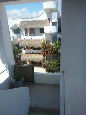 Tanik Condominiums :                   View from the door