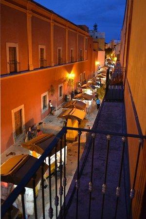 Vista de Andador Libertad, balcon de La barriada.