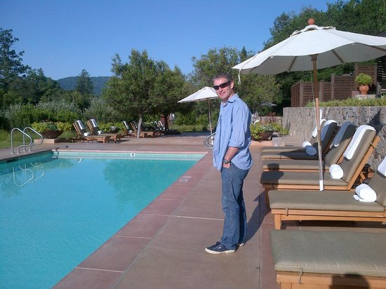 Calistoga Ranch, An Auberge Resort:                                     The pool