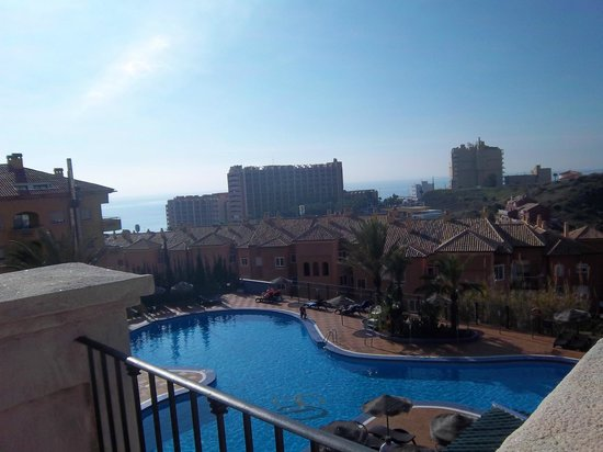 Hotel & Spa Benalmadena Palace:                   view of out door pools